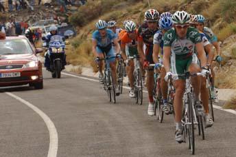 Final de etapa de la Vuelta en Almussafes