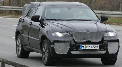 BMW X6, fotos espía