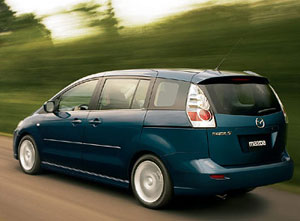 Mazda 5, para otoño